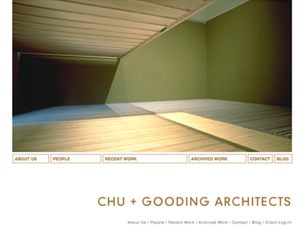 Chu + Gooding Architects Website