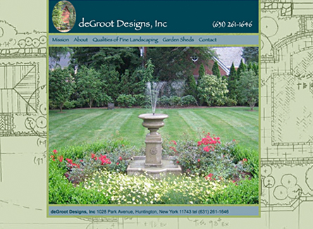Degroot Designs, Inc -  Website